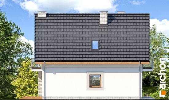 Elewacja boczna projekt dom w sasankach 3  266