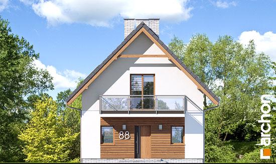 Elewacja frontowa projekt dom w sasankach 3  264