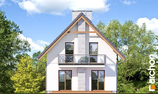 Elewacja ogrodowa projekt dom w sasankach 3  267