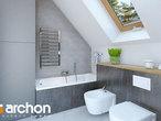 projekt Dom w sasankach 3 Wizualizacja łazienki (wizualizacja 3 widok 2)