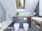 projekt Dom w sasankach 3 Wizualizacja łazienki (wizualizacja 3 widok 3)
