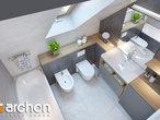 projekt Dom w sasankach 3 Wizualizacja łazienki (wizualizacja 3 widok 4)