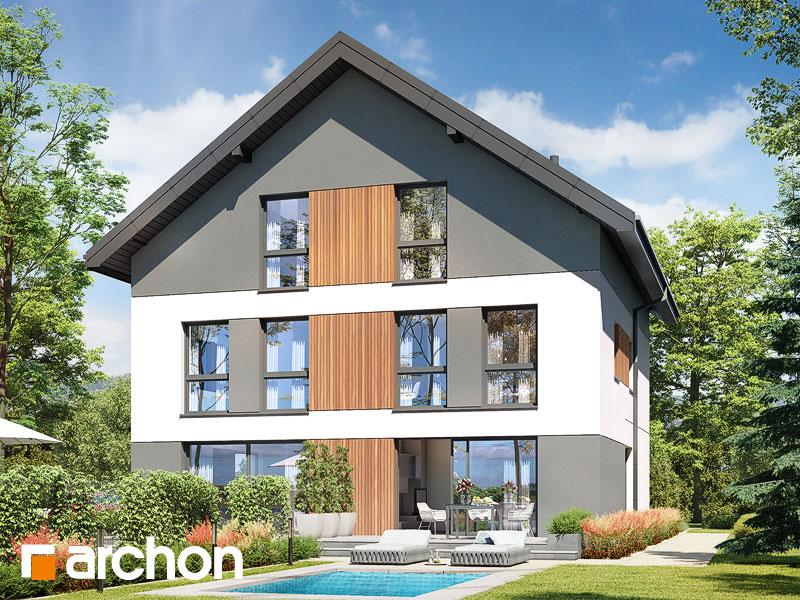 gotowy projekt Dom w riveach 12 (R2) widok 2