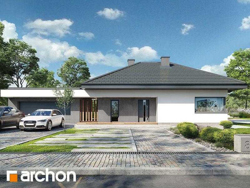 gotowy projekt Dom w calandivach (G2) widok 1