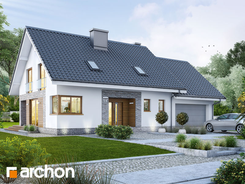 projekt Dom w srebrzykach (G2) widok 1