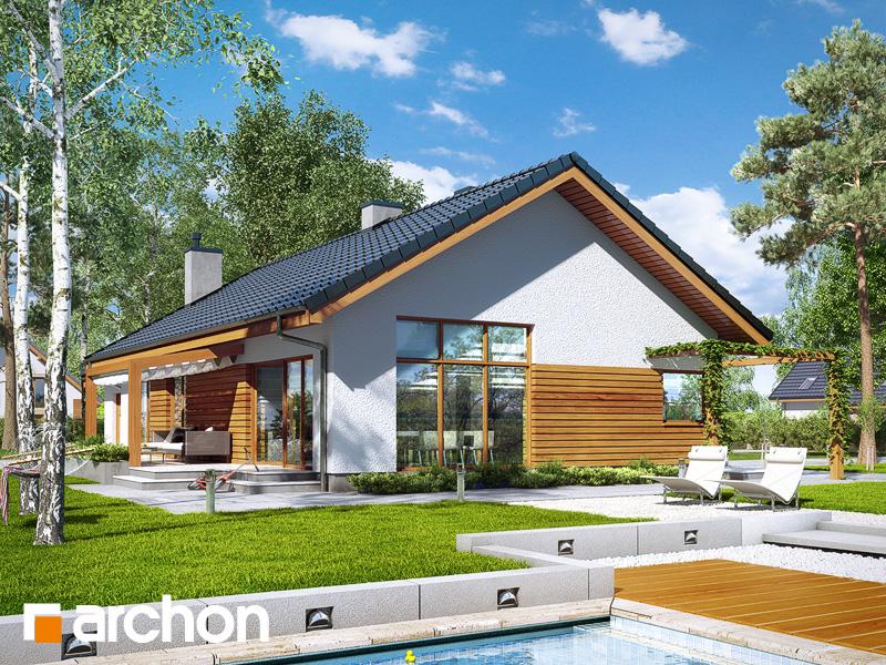 gotowy projekt Dom w mekintoszach 4 widok 2