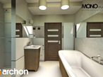 projekt Dom w żurawkach Wizualizacja łazienki (wizualizacja 1 widok 3)