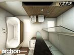 projekt Dom w żurawkach Wizualizacja łazienki (wizualizacja 1 widok 5)