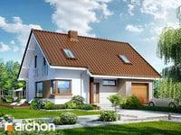 projekt Dom w żurawkach widok 1