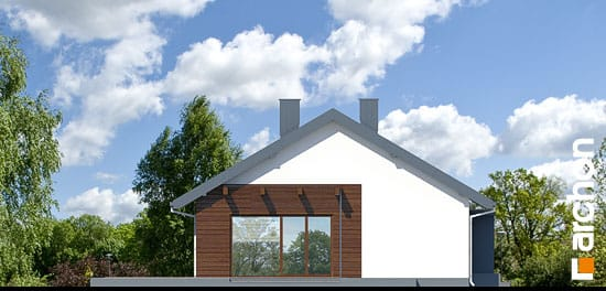 Elewacja boczna projekt dom pod morwa ver 2  265