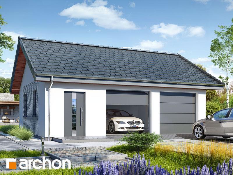 Projekt Garażu Garaż 2 Stanowiskowy G27 Archon