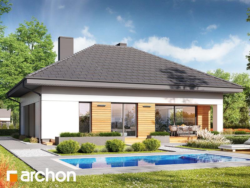 gotowy projekt Dom w modrzykach 4 widok 2