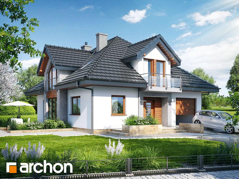 gotowy projekt Dom w tymianku (N) widok 1
