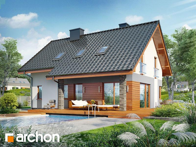 gotowy projekt Dom w żurawkach 7 (G2) widok 1