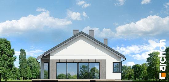 Elewacja boczna projekt dom w peperomiach 2  266