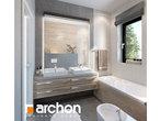 projekt Dom w peperomiach 2 Wizualizacja łazienki (wizualizacja 3 widok 3)