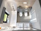 projekt Dom w peperomiach 2 Wizualizacja łazienki (wizualizacja 3 widok 4)