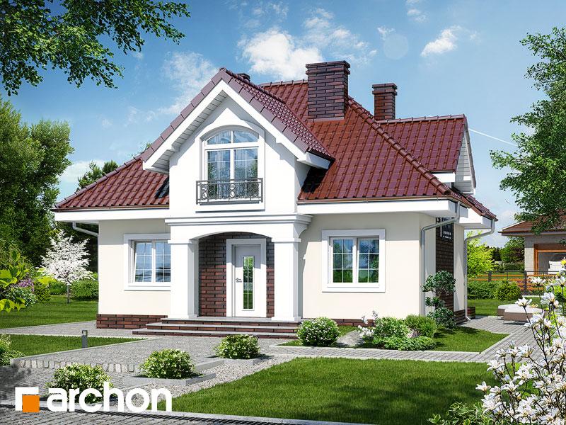 Projekt Domu Dom W Robiniach Archon