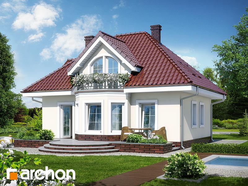 gotowy projekt Dom w robiniach widok 1