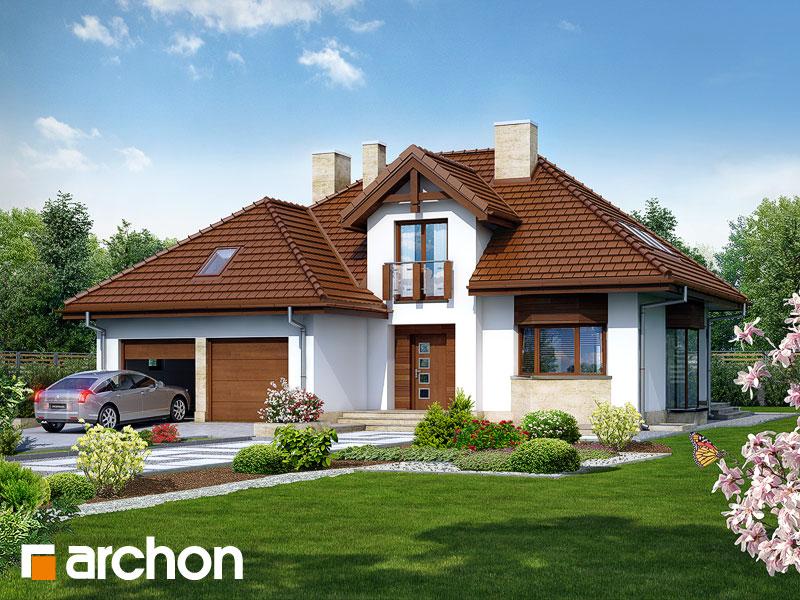 gotowy projekt Dom w kalateach 2 (P) widok 1