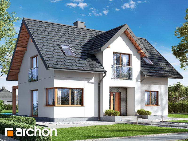gotowy projekt Dom w lucernie 9 widok 1