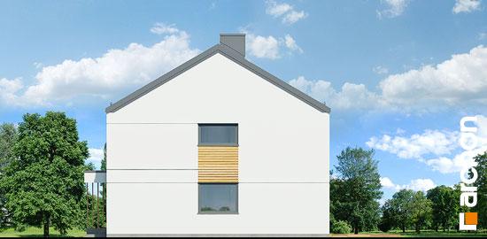 Elewacja boczna projekt dom w tunbergiach 3 r2  265
