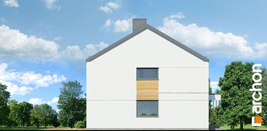 Elewacja boczna projekt dom w tunbergiach 3 r2  266