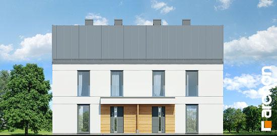 Elewacja frontowa projekt dom w tunbergiach 3 r2  264