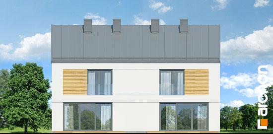 Elewacja ogrodowa projekt dom w tunbergiach 3 r2  267