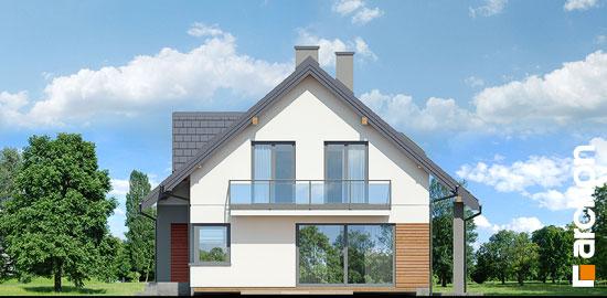 Elewacja boczna projekt dom w idaredach 10  265