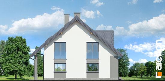Elewacja boczna projekt dom w idaredach 10  266