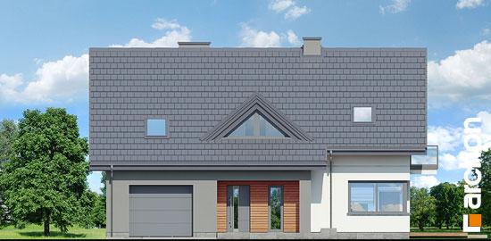 Elewacja frontowa projekt dom w idaredach 10  264