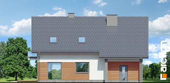 Elewacja ogrodowa projekt dom w idaredach 10  267
