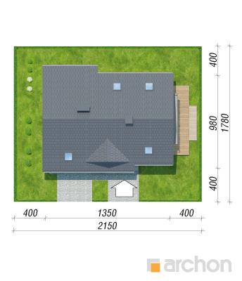 projekt Dom w idaredach 10 sytuacja