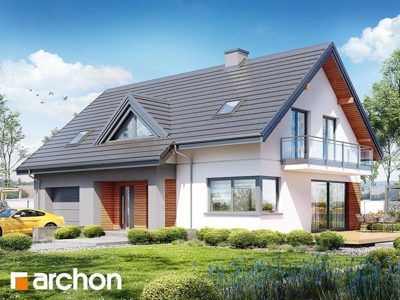 gotowy projekt Dom w idaredach 10 widok 1