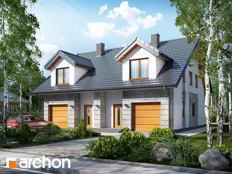 gotowy projekt Dom pod miłorzębem 7 (GR2) widok 1