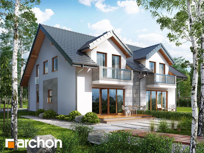 gotowy projekt Dom pod miłorzębem 7 (GR2) widok 2