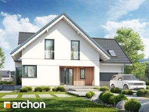 Projekt dom w rododendronach 27  252