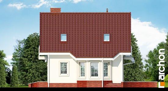 Elewacja boczna projekt dom w perlowce 2 ver 2  265
