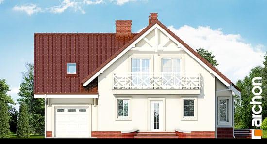 Elewacja frontowa projekt dom w perlowce 2 ver 2  264