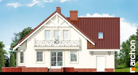 Elewacja ogrodowa projekt dom w perlowce 2 ver 2  267