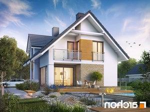 projekt Dom w cynobrówkach (P) lustrzane odbicie 2