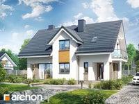 projekt Dom w cynobrówkach (P) widok 1