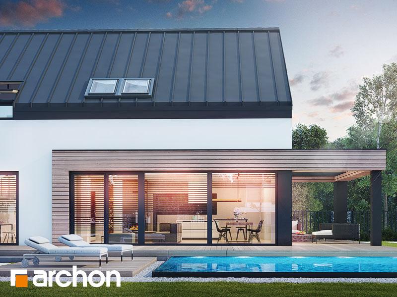 gotowy projekt Dom w agapantach 2 (G2) widok 1
