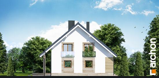 Elewacja boczna projekt dom w idaredach g2 ver 2  266