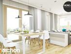 projekt Dom w idaredach (G2) Strefa dzienna (wizualizacja 1 widok 3)