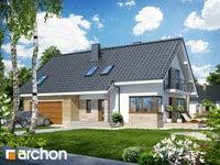 projekt Dom w idaredach (G2) widok 1