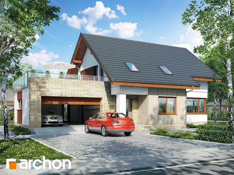 gotowy projekt Dom w glosterach (G2) widok 1