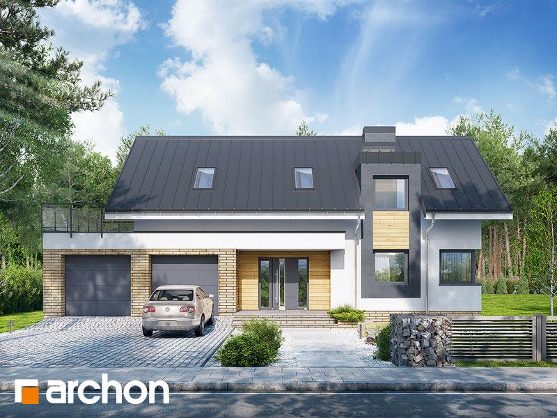 projekt Dom w elstarach (G2) widok 1