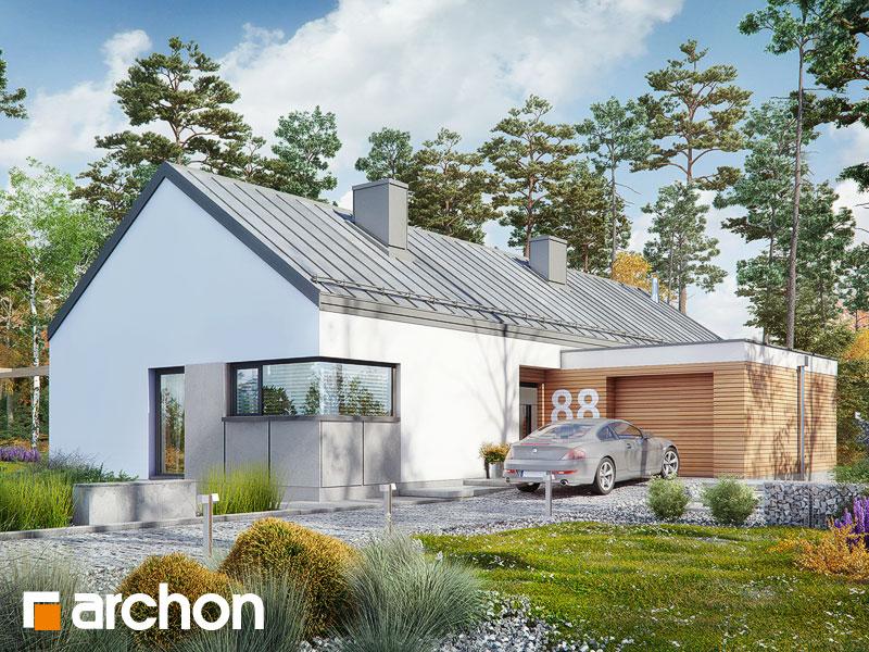 gotowy projekt Dom w anabellach widok 1